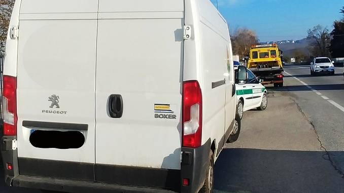 La Municipale di Guarene e Castagnito rintraccia un furgone oggetto di pignoramento