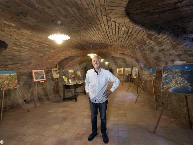 Il pittore Gianni Gaschino presenta la sua prossima mostra dal titolo Ritorno alle origini 1