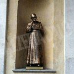 Inaugurata lastatua di don Alberione al santuario della Madonna dei fiori di Bra