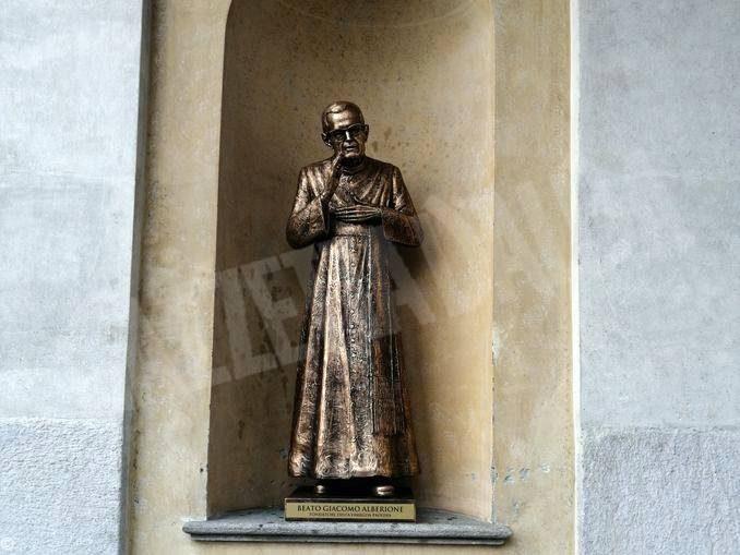 Inaugurata la statua di don Alberione al santuario della Madonna dei fiori di Bra 1