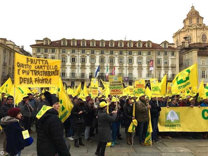 Coldiretti: 4mila agricoltori manifestano a Torino 1