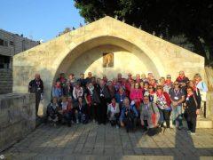 Gli albesi pellegrini di pace nella terra dov'è nato Gesù