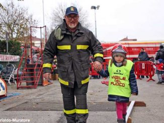 La patronale dei Vigili del fuoco di Alba 1