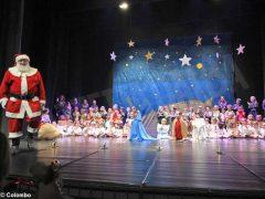 Piccolo principe scelto per la recita natalizia dei bambini dell'asilo Miroglio
