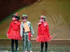 Piccolo principe scelto per la recita natalizia dei bambini dell'asilo Miroglio 25