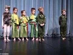 Piccolo principe scelto per la recita natalizia dei bambini dell'asilo Miroglio 28