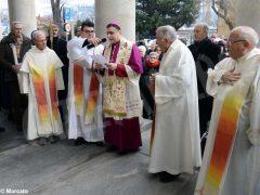 Inaugurata lastatua di don Alberione al santuario della Madonna dei fiori di Bra 1