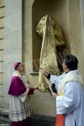 Inaugurata lastatua di don Alberione al santuario della Madonna dei fiori di Bra 2