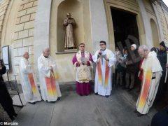 Inaugurata lastatua di don Alberione al santuario della Madonna dei fiori di Bra 3