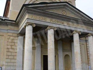 Inaugurata lastatua di don Alberione al santuario della Madonna dei fiori di Bra 8