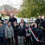 Inaugurata l'aiuola dei giardini Falcone e Borsellino in Bra decorata dai bambini