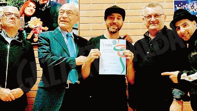 Enrico Signa, unico piemontese con il diploma di tecnico per la break dance