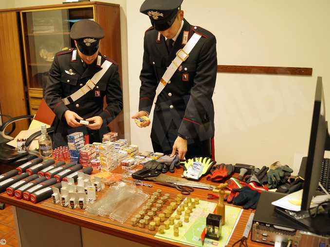 carabinieri racconigi refurtiva