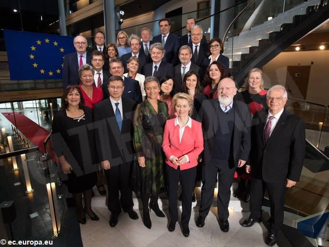 commissione europea von der leyen
