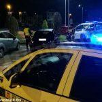 A Bra cinquantenne ubriaco provoca due incidenti e tenta la fuga