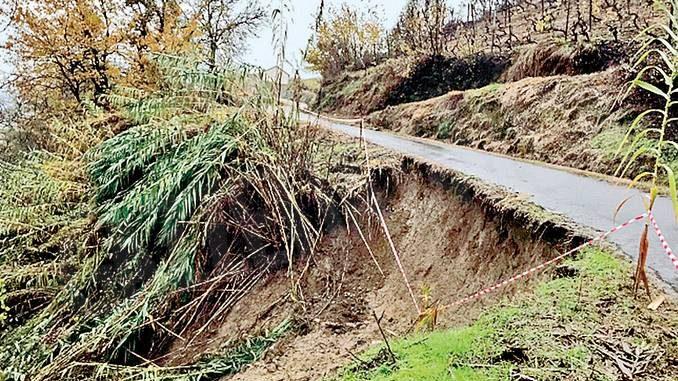 A Cossano Belbo tre strade sono ancora chiuse