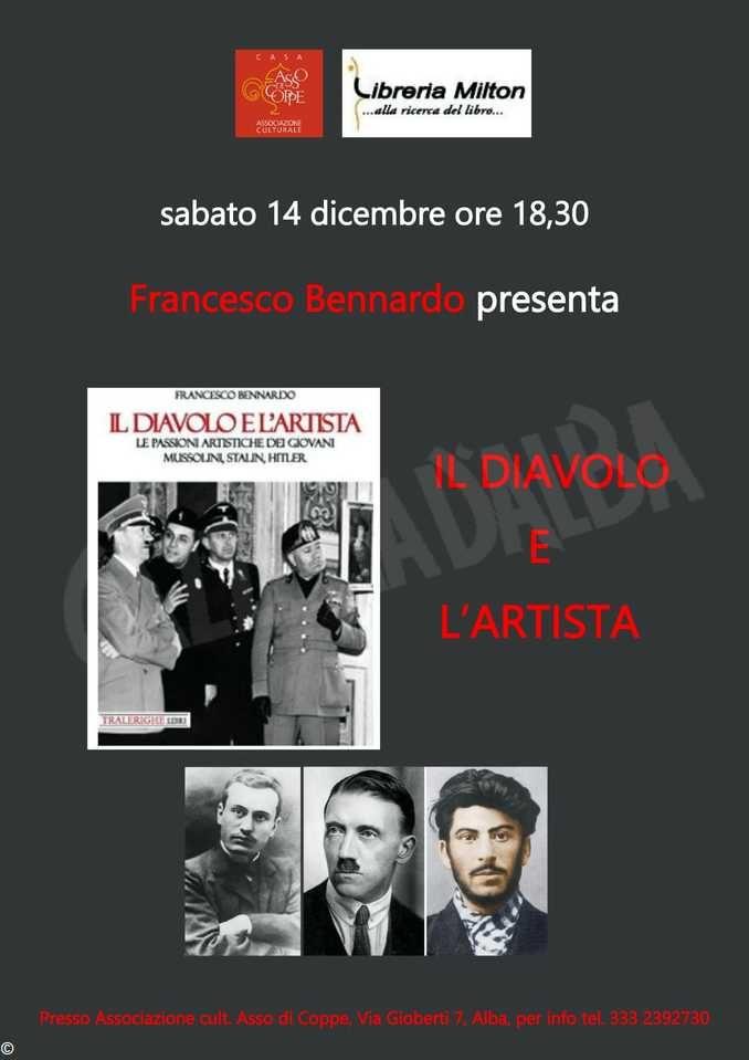 Ad Asso di coppe Il diavolo e l'artista,  il nuovo libro di Francesco Bennardo 1