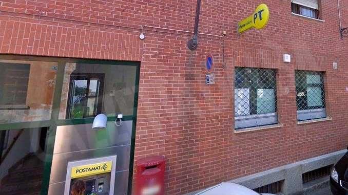 Rapina all'ufficio postale di Sommariva Bosco. I banditi agiscono prima dell'arrivo dei clienti