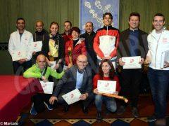 Podismo, premiati i maratoneti dell