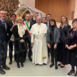 Una delegazione astigiana ha portato la bagna cauda a papa Francesco