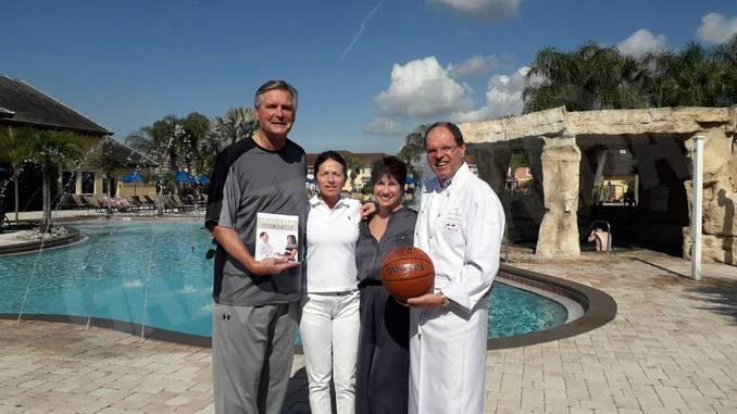 Lo chef Carlo Zarri in Florida ha incontrato con l'ex stella dei Lakers C. J. Kupec
