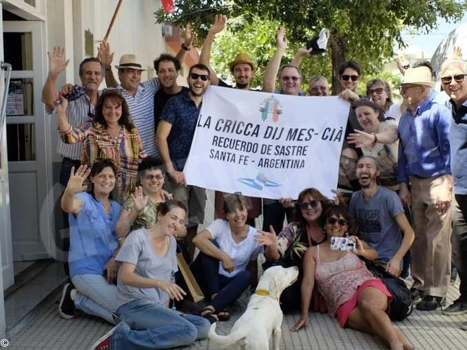 I sei concerti in Argentina della Cricca dij mes-cià