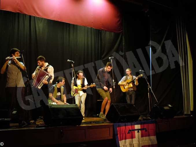 I sei concerti in Argentina della Cricca dij mes-cià 2