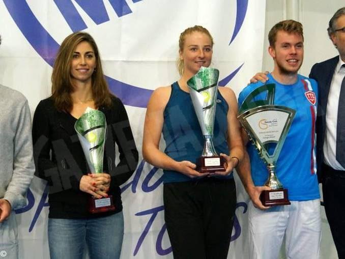 Tennis: la canellese Maria Marfutina vittoriosa a Chatillon