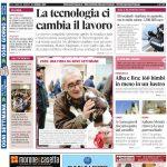 Le notizie principali del numero in edicola il 21 gennaio