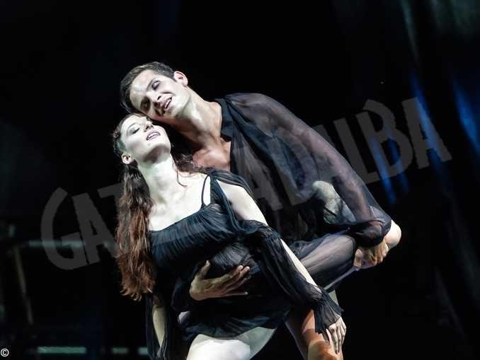Alba, in teatro Romeo danza con Giulietta