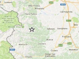 Nuova scossa di terremoto nel cuneese di magnitudo 2.9, registrata alle 8.36