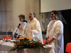Festa di premiazione e Messa di fine anno all'Enologica di Alba 2