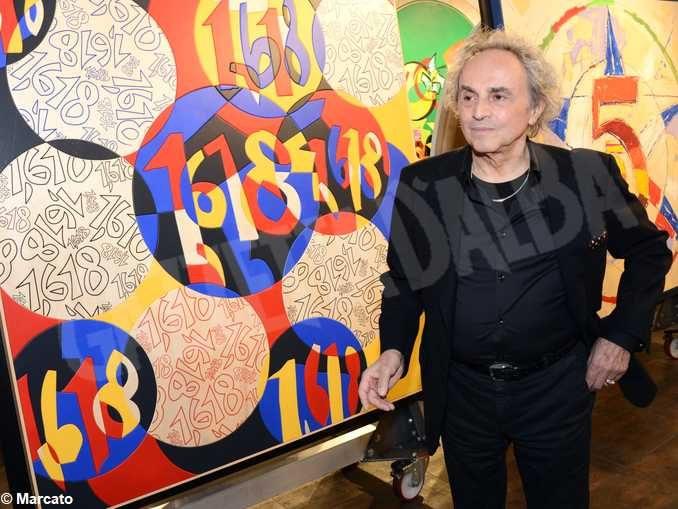 Grande successo della mostra di Ugo Nespolo in Banca d'Alba 2