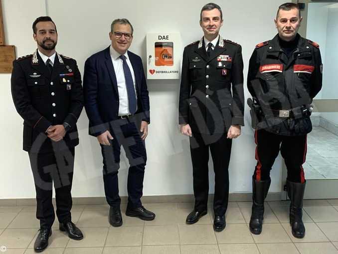 carabinieri asti defibrillatore