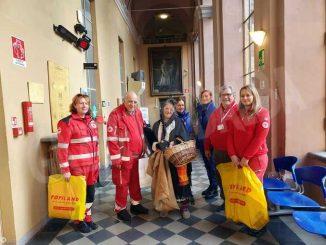 La Befana della Croce rossa in visita ai reparti del San Lazzaro
