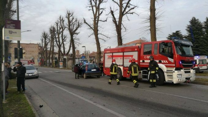 Cherasco: incidente nei pressi di porta Narzole