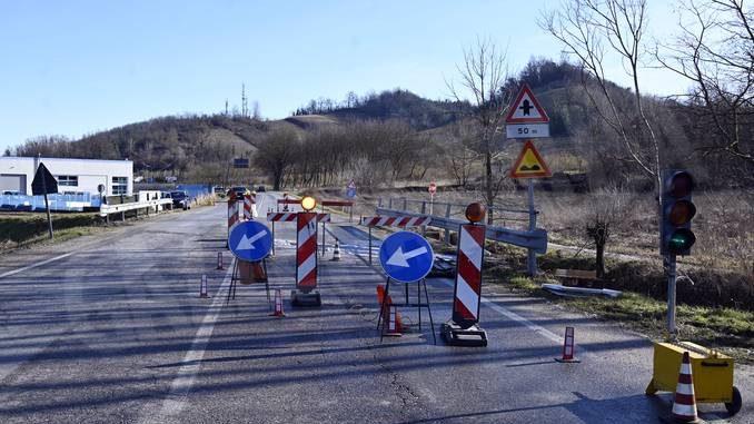 Corneliano: lavori di manutenzione per il ponte sulla provinciale