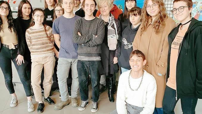 Il liceo artistico Gallizio di Alba sui Sentieri dei frescanti