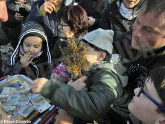 Per l'epifania della comunità ortodossa si ripete il rito della benedizione dell'acqua 13