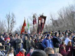 Per l'epifania della comunità ortodossa si ripete il rito della benedizione dell'acqua 1