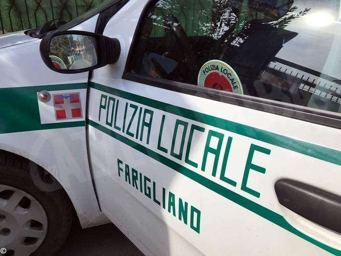 Farigliano: urta due veicoli in sosta e scappa: identificata e sanzionata dalla Polizia locale
