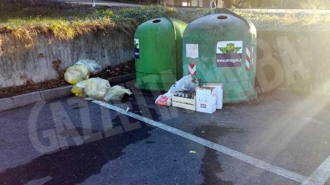 Le immagini delle telecamere permettono ai Vigili di individuare chi abbandona rifiuti e gli autori di un furto