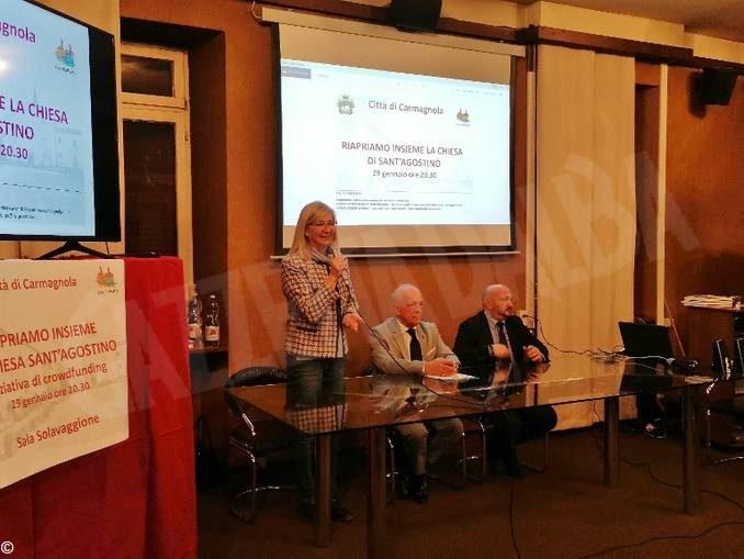 Carmagnola lancia il crowdfunding per riaprire la chiesa di Sant'Agostino 1