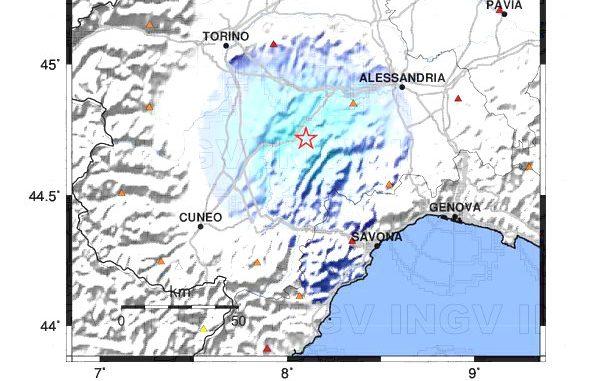 Terremoto nelle Langhe con epicentro a Neive: scossa di magnitudo 3 avvertita in tutto il Piemonte