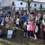 I 30 alberi del bosco incantato di piazza Ferrero donati da Egea ai Comuni del territorio