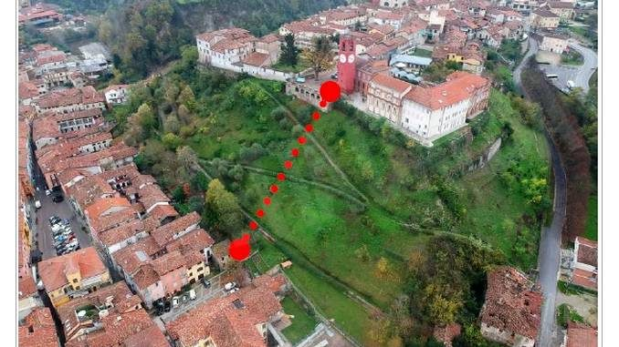Dogliani pensa a un ascensore panoramico per collegare Borgo e Castello