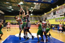 Basket, serie B: un super Olimpo mette ko Omegna 9