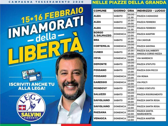 Lega Salvini Gazebo