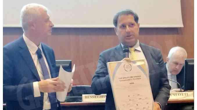 Il gruppo Egea di Alba premiato a Milano