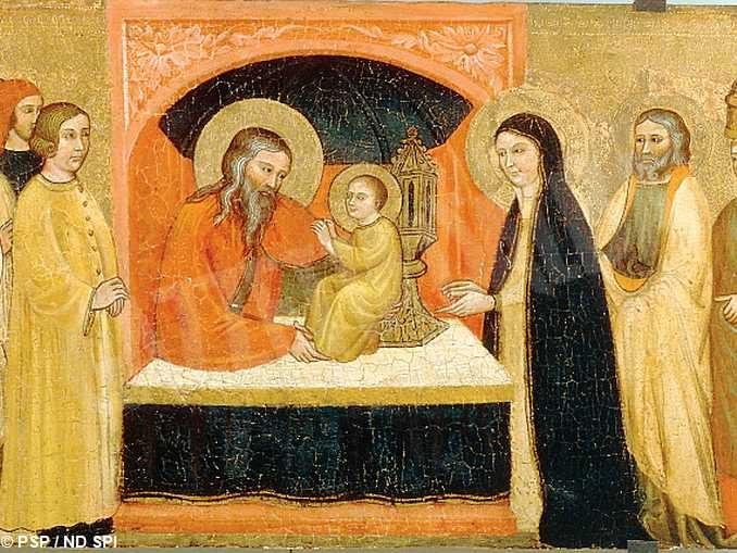 La festa della presentazione di Gesù al tempio